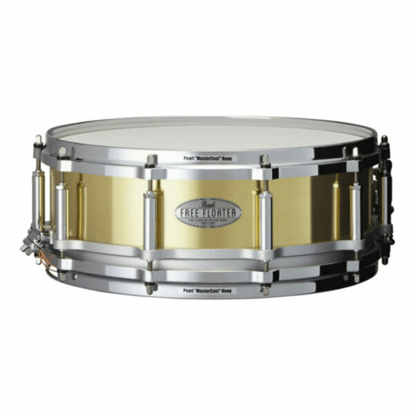 Pearl Free Floating 14''x 5'' Brass Snare Drum