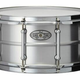 "Pearl 14"" x 6.5"" Sensitone Beaded Seamless Aluminum Snare Drum"