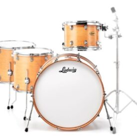 """Ludwig 24"""" Centennial Moto 4 Piece Shell Pack - Natural Maple"""