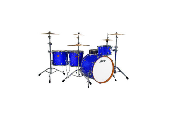 "Ludwig 22"" Centennial Dragster Shell Pack - Blue Sparkle"
