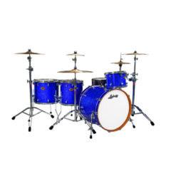 "Ludwig 24"" Centennial Moto 4 Piece Shell Pack - Blue Sparkle"