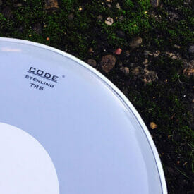 "Code 13"" TRS Smooth White Snare Drum Head"