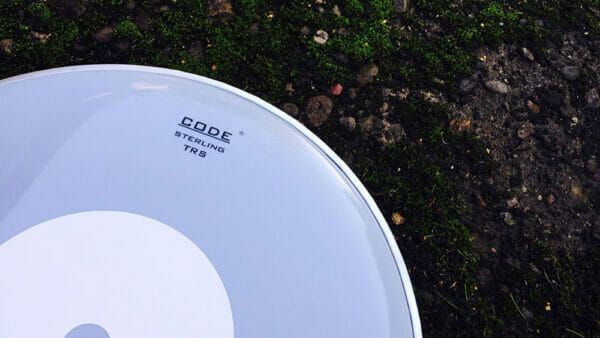 """Code 13"""" TRS Smooth White Snare Drum Head"""