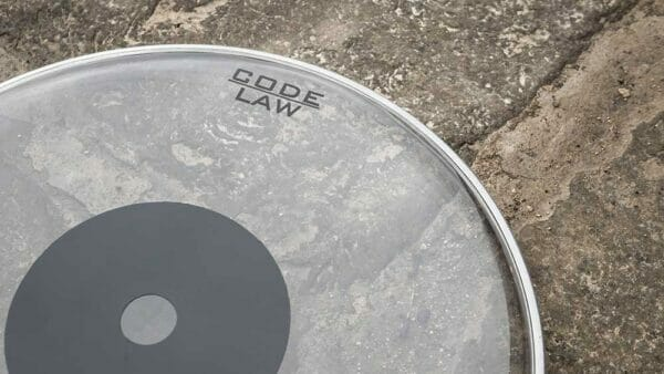 """Code 13"""" Law Clear Drum Head"""