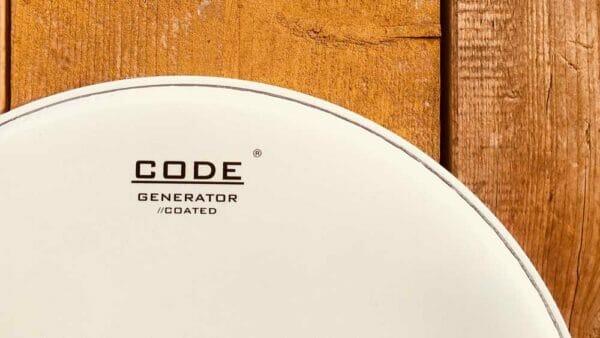 "Code 12"" Generator Coated Drum Head"
