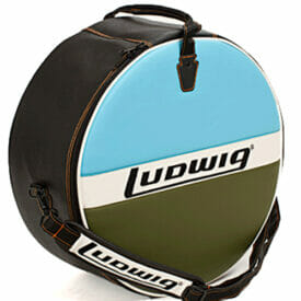 """Ludwig Atlas Classic 14x6.5"""" Blue/Olive Snare Drum Bag"""