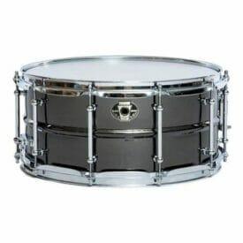 "Ludwig 14x6.5"" Black Magic Snare Chrome"