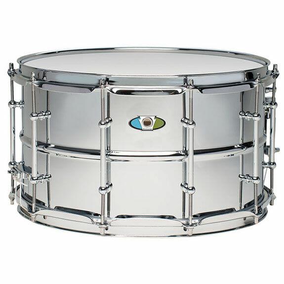 "Ludwig 14x8"" Supralite Steel Snare Drum"