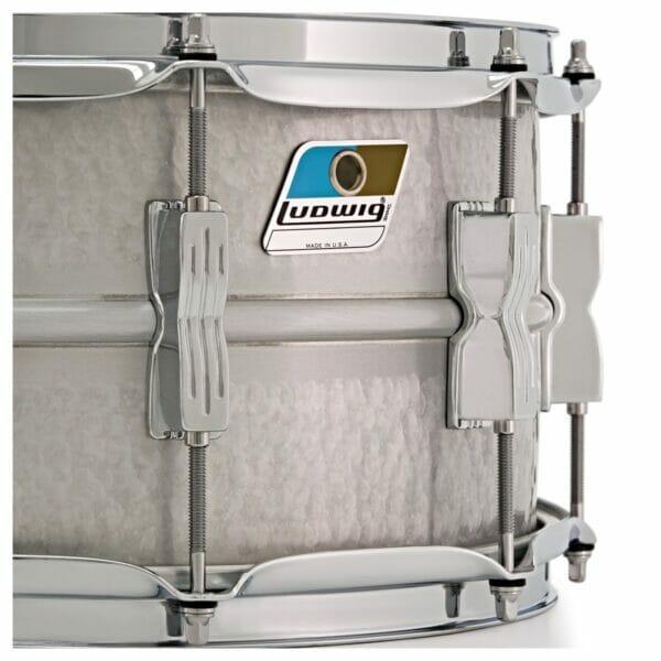 "Ludwig 14x6.5"" Hammered Acrolite Snare Drum"