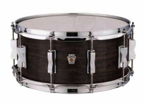 """Ludwig 14x6.5"""" Standard Maple Snare Drum - Charcoal"""