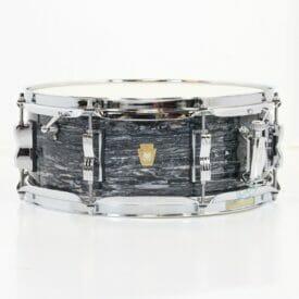 """Ludwig 14x5.5"""" Jazz Fest Snare Drum - Vintage Black Oyster"""