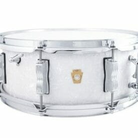 "Ludwig 14x5.5"" Jazz Fest Snare Drum - White Marine Pearl"