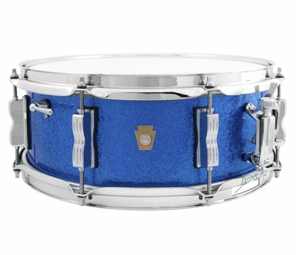 "Ludwig 14x5.5"" Jazz Fest Snare Drum - Blue Sparkle"