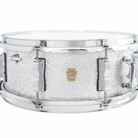 "Ludwig 14x5.5"" Jazz Fest Snare Drum - Silver Sparkle"