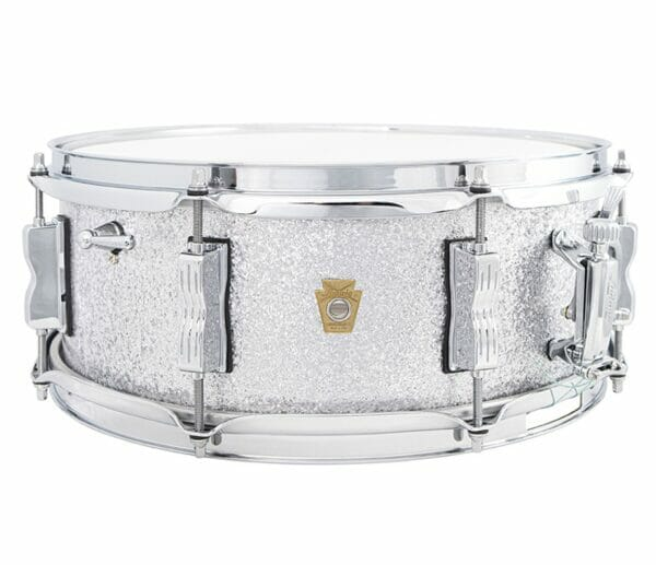 """Ludwig 14x5.5"""" Jazz Fest Snare Drum - Silver Sparkle"""