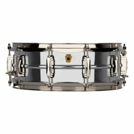 "Ludwig 14x5"" Super Series Chrome over Brass Snare Drum"