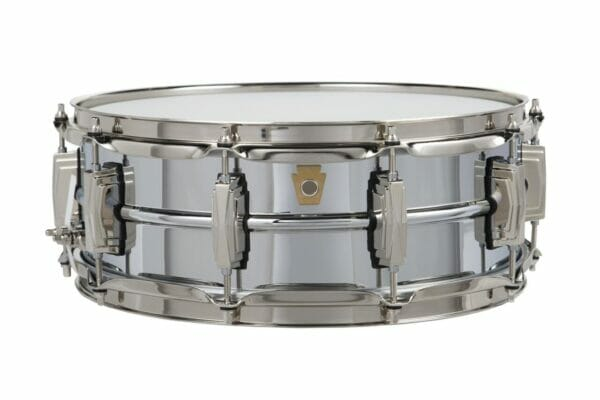 "Ludwig 14x6.5"" Super Series Chrome Over Brass Snare Drum"