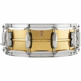 "Ludwig 14x5"" Super Series Brass Snare Drum"