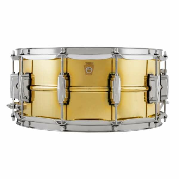 "Ludwig 14x6.5"" Super Series Brass Snare Drum"