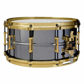 "Ludwig 14x6.5"" Black Beauty Snare Drum"