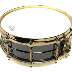 "Ludwig 14x5"" Black Beauty Snare Drum"
