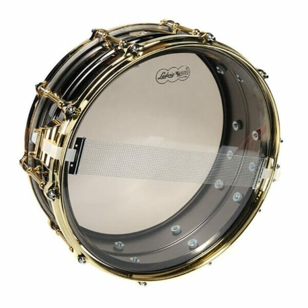 """Ludwig 14x6.5"""" Black Beauty Snare Drum"""