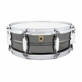 "Ludwig 14x5"" 8 Lug Black Beauty Snare Drum"