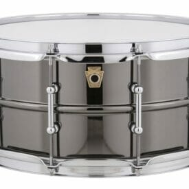 "Ludwig 14x6.5"" Black Beauty Snare Drum, Tube Lugs"