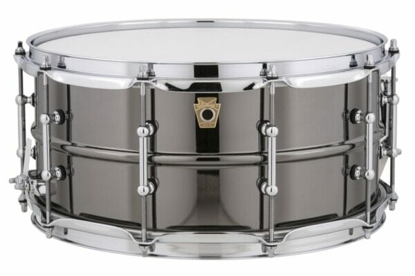 "Ludwig 14x6.5"" Black Beauty Snare Drum, Tube Lugs"