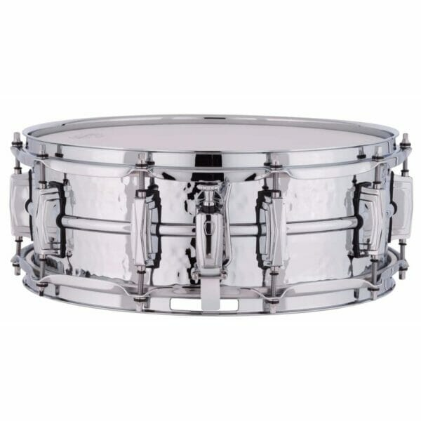 """Ludwig 14x5"""" Supraphonic Hammered Shell Snare Drum, Imperial Lugs"""