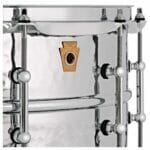 Ludwig 14×6.5″ Supraphonic Hammered Shell Snare Drum, Tube Lugs