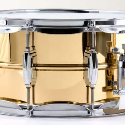 "Ludwig 14x6.5"" Smooth Bronze Snare Drum with Imperial Lugs"
