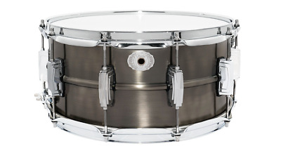 """Ludwig 14x6.5"""" Limited Edition Pewter Copper Snare Drum"""