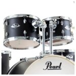 Pearl Export EXX 20 Fusion Drum Kit with Skype Drum Lesson and Sabian SBR Cymbal Pack – Satin Black LIMITED EDITION2