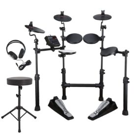 Carlsbro CSD100 Electronic Drum Kit - Bonus Pack