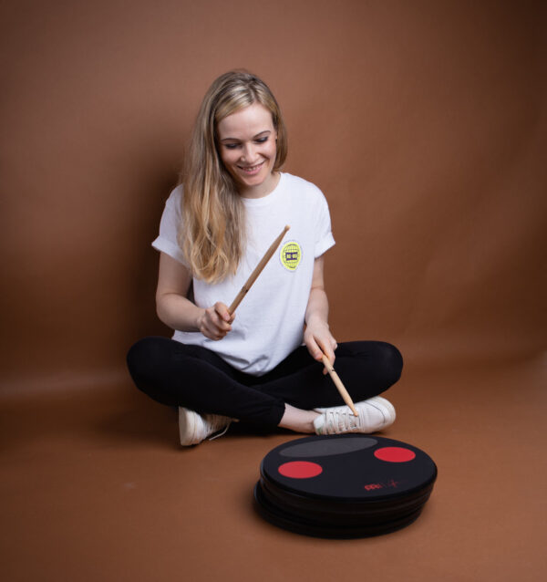 "Meinl 12"" Split Tone Practice Pad By Anika Nilles"