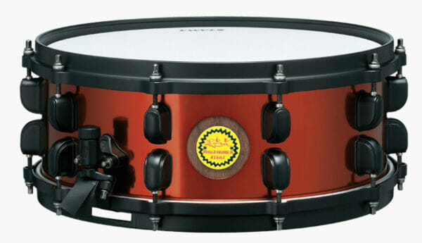"Tama Ronald Bruner Jr. Signature 14 ""x 5.5"" Walnut/Steel Snare Drum"