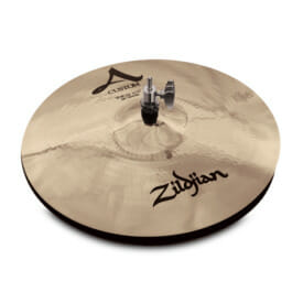 "Zildjian 14"" A Custom Hi-Hat Brilliant"