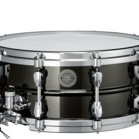 "Tama Starphonic 14"" x 6"" Steel Black Snare"