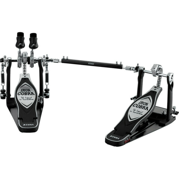 Tama HP900PWLN Iron Cobra Twin Bass Drum Pedal - W/Case - Left Footed