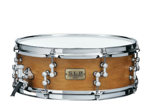 "Tama 14"" x 5"" SLP Snare Drum Satin Vintage Hickory"