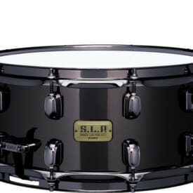 "Tama 14"" x 6.5"" SLP Black Brass Snare Drum"