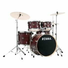 Tama Imperialstar 5pc Shell Pack - Burgundy Walnut Wrap