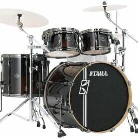 Tama Superstar Hyperdrive 4pc Drum Shell Pack - Dark Mocha Fade