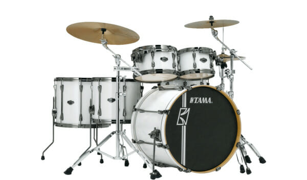 Tama Superstar Hyperdrive 5pc Drum Shell Pack - Satin Arctic Pearl