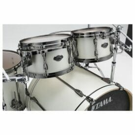 Tama Superstar Hyperdrive 4pc Drum Shell Pack - Satin Arctic Pearl2