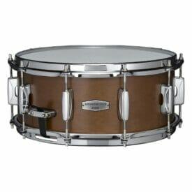 """Tama 14"""" x 6"""" Kapur Snare Drum - Matte Brown Kapur"""