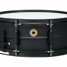 "Tama 14"" x 5.5"" Metalworks Black on Black Steel Snare Drum"