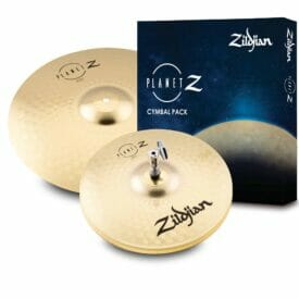 "Zildjian Planet Z Launch Cymbal Pack (13"" HH, 16"" Crash)"