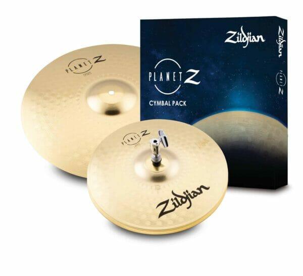 """Zildjian Planet Z Launch Cymbal Pack (13"""" HH, 16"""" Crash)"""